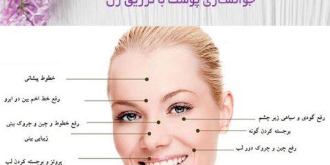 جوانسازی پوست با تزریق ژل